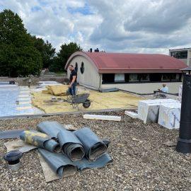 Renovatie dakbedekking